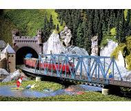 модель Faller 120560  Однопутный мост, размеры 38 x 8 x 13.8 см