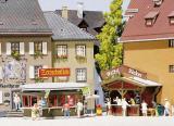 модель Faller 130211 Zeitungskiosk + Waffel-Bäcker
