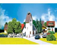 модель Faller 130236 Dorfkirche m. Storchennest