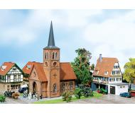 модель Faller 130239 Kleinstadt-Kirche Klinkerbau (pa