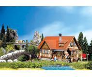 модель Faller 130270 Einfamilienhaus m. Fachwerk+Auss