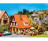 модель Faller 130314 Gasthaus Zur Krone m.Biergarten