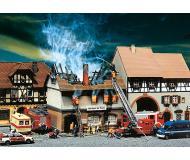 модель Faller 130429 Сгоревший ресторан Zur Sonne