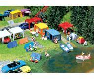 модель Faller 130504 Set Camping-Zelte