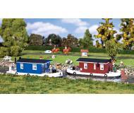 """модель Faller 131008 Houseboat. Набор для сборки (KIT) - Each: 5-3/8 x 2-1/8 x 1-7/8""""  13.5 x 5.3 x 4.6см. Упаковка 2 шт."""