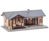 модель Faller 131211 Товарная станиция, размер 16,6 x 10,9 x 7,1 см