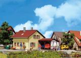 модель Faller 131224 Hobby Siedlerhaus mit Anbau