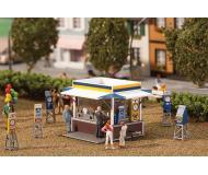 модель Faller 140477 Carnival Booth & Machines. Набор для сборки (KIT)