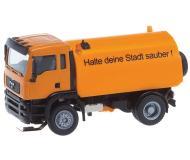 модель Faller 161305 MAN TGX Street Sweeper - Car System Digital -- Municipal (German Lettering)