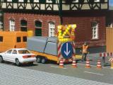 модель Faller 161549 cs Verkehrssicherungsanhänger