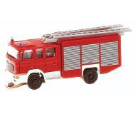 модель Faller 162050 Emergency Car System Operating Fire Truck -- Littke MAN ME 2000 evo LF20/16 Fire Truck