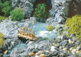 модель Faller 171815  Водоем, идеально для использования совместно с водопадом FALLER 171814. В качестве воды  рекомендуется использовать Faller 171662