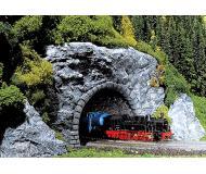 модель Faller 171821 Серия Premium. Двухпутный туннель со скалой, окрашеной вручную. Скала из полиуретана, легко режется при необходимости.