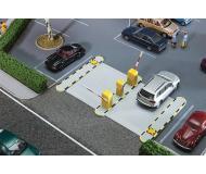 """модель Faller 180371 Automated Parking Lot Entrance/Exit Gate. Набор для сборки (KIT) - 4-3/8 x 2-3/4 x 11/16""""  11.1 x 7 x 1.8см. (Servomotors, продаётся отдельно"""
