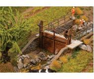 модель Faller 180390 Hand-Crank Stream Dam --. Упаковка 2 шт. Набор для сборки (KIT)
