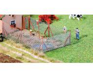 "модель Faller 180414 Fence -- Wire Mesh Fence w/Wood Poles 13-1/4""  34см.. Набор для сборки (KIT)"