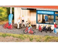 модель Faller 180445 Mountain Bikes -- 8 Red, 4 Black, 4 White
