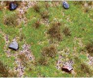 """модель Faller 180476 Premium Countryside Segment -- Meadow with Boulders 8-1/4 x 5-7/8 x 3/8""""  21 x 14.8 x 1см."""
