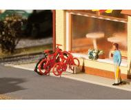 модель Faller 180901 Bicycles. Набор для сборки (KIT), упаковка 8 шт.
