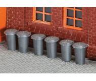 модель Faller 180905 Trash Cans. Набор для сборки (KIT), упаковка 10 шт.