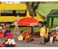модель Faller 180910 Sun Umbrellas, Tables & Benches. Набор для сборки (KIT)