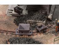 модель Faller 180916 Trolleys & Mining Dump Carts. Набор для сборки (KIT) -- HOe Gauge, 2 of Each