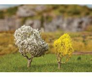 "модель Faller 181189 1 Blackthorn & 1 Forsythia Tree - Premium -- 2""  5см. & 1-9/16""  4см."