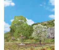 """модель Faller 181190 Wild Cherry Trees - Premium -- 3-3/8 & 4-3/4""""  8.5 & 12см. Упаковка 2 шт."""
