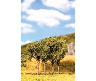 "модель Faller 181204 Premium Deciduous Tree -- Late Summer Shrubs 2-3/4""  7см., упаковка 4 шт."