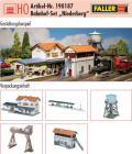 модель Faller 190187  Железнодорожная станция  Niederberg, набор из 5 зданий