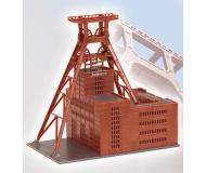 "модель Faller 190299  Zollverein Shaft XII Coal Mine Shaft - 1/566 Scale -- Assembled - 3-15/16 x 2-3/8 x 3-7/8""  10 x 6 x 9.8см."