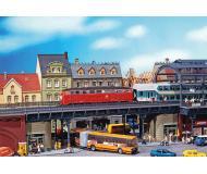 """модель Faller 194551 S-Bahn City Bridge. Набор для сборки (KIT) - 14-1/8 x 6-3/8 x 3-7/8""""  36 x 16 x 10см."""
