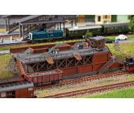 "модель Faller 222163 Coal Dump Loading Platform. Набор для сборки (KIT) - 10 x 4-1/4 x 2-7/16""  25.5 x 10.8 x 6.2см."