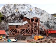модель Faller 222205 Old Coal Mine Painted. Набор для сборки (KIT) -- 20.0 x 18.5 x 10.6см.