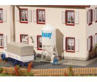 "модель Faller 222215 Construction Site Cement Silos. Набор для сборки (KIT) - Each: 1/2 x 9/16 x 1-3/8""  1.3 x 1.4 x 3.5см. Упаковка 2 шт."