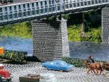 модель Faller 222577 2 Brückenpfeiler