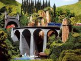 модель Faller 222593 Viaduktbrücke gebogen 2-gl. (pat