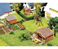 модель Faller 232209 3 Gartenhäuser