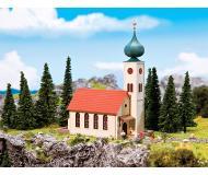 модель Faller 232244 Village Church w/Onion Dome. Набор для сборки (KIT) -- 11.0 x 6.0 x 15.8см.
