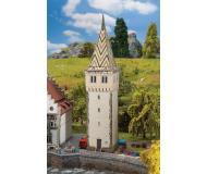 """модель Faller 232316 Lindau Mangturm Tower, окрашены. Набор для сборки (KIT) - 2-3/16 x 1-7/8 x 8-11/16""""  5.5 x 4.8 x 22см."""