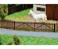 "модель Faller 272410 Wooden Picket Fence. Набор для сборки (KIT) - 4 Sections Each 3-3/8 x 1/16 x 5/16""  8.6 x .1 x .8см."