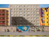 "модель Faller 272424 Berlin Wall w/East Side Gallery Graphics -- Painted. Набор для сборки (KIT) - 8-11/16 x 15/16 x 1-11/16""  12 x 1.3 x 2.3см., 32 Sections"