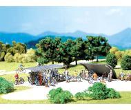 модель Faller 272535 2 Fahrradständer mit Fahrrädern