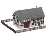 """модель Faller 282785 Farmhouse. Набор для сборки (KIT) - 3 x 1-3/4 x 1-13/16""""  7.6 x 4.5 x 4.6см."""