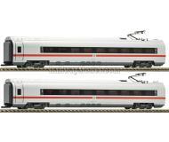 модель Fleischmann 448103 Набор из двух вагонов ICE Class 407.1/407.6, 1 и 2 класса. Принадлежность DB AG