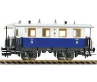 модель Fleischmann 505303  Пассажирский вагон 2 класса для EdelweiB-Privatbahn. Частная жд. Эпоха III
