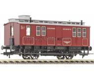 модель Fleischmann 505701 Почтово-багажный вагон для Bergheimer Lokalbahn Aktiengesellschaft