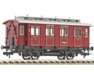 модель Fleischmann 505901 Пассажирский вагон 2 класса для Bergheimer Lokalbahn Aktiengesellschaft. Принадлежность Privat