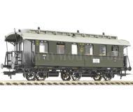 модель Fleischmann 506211 3-х осный пассажирский вагон 4 класса с грузовым купе, тип D3itrpr08. Принадлежность DRG