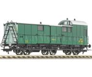 модель Fleischmann 506901 3-х осный багажный вагон, тип Pw 3 F. Принадлежность FS